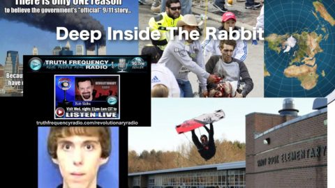 Rob Skiba goes Deep Inside The Rabbit Hole. 911. Sandy Hook. Boston Bombing. Flat Earth