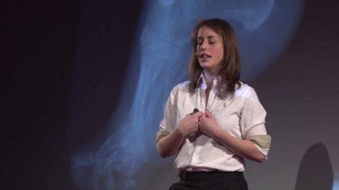Heels vs footbinding: Julie Bertrand at TEDxMontrealWomen