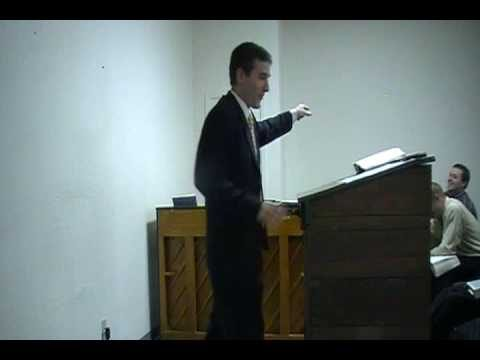 """The Government Wants to be God"" Fundamental Baptist Preaching"